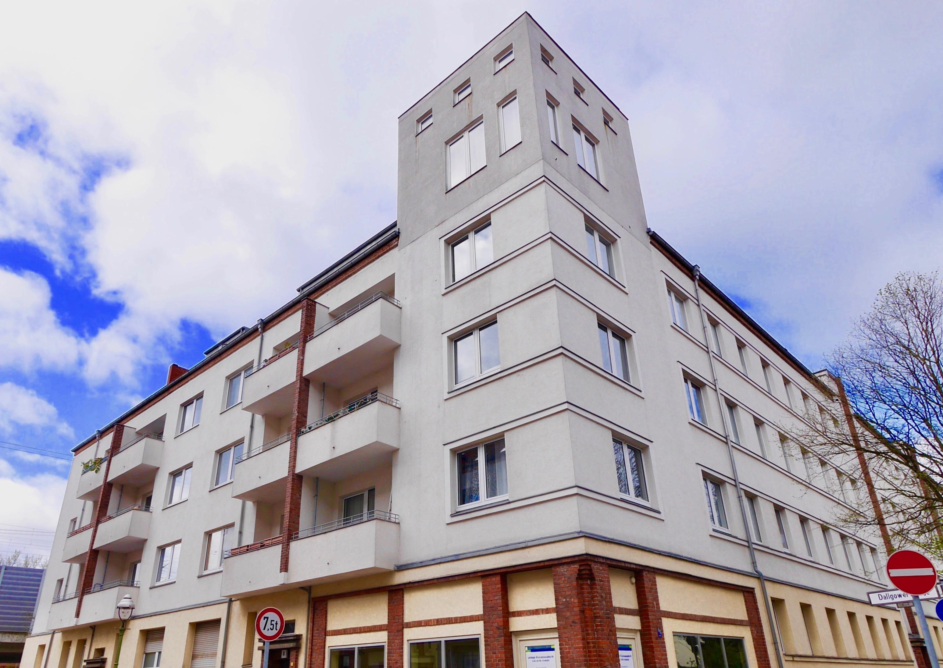 Berlin - Spandau Mietblock Seegefelder Str. / Wustermarker Str.